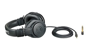 Audio Technica ATH-M20x headphones grid