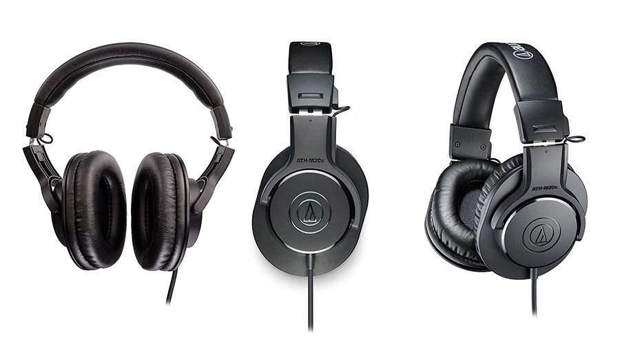 Audio-Technica ATH-M20x headphones single