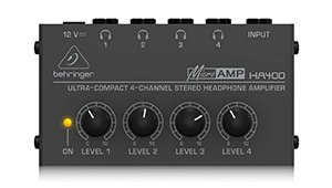 Behringer MICROAMP HA400 Headphone Amp