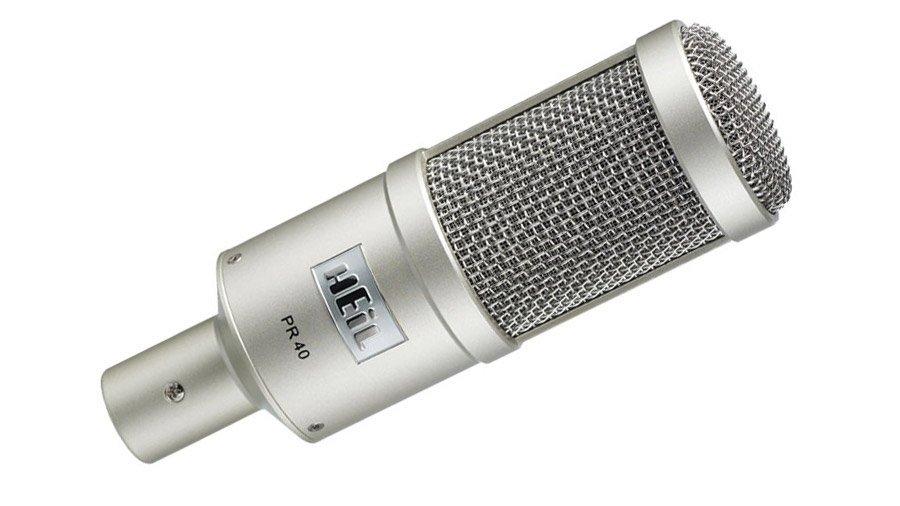 Heil Sound PR 40 Podcast Mic