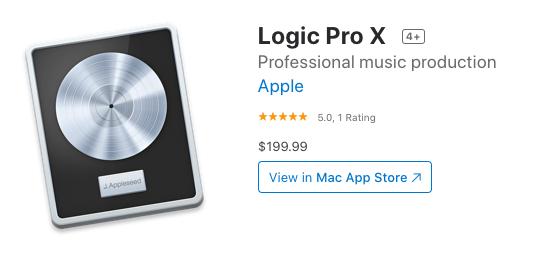 logic pro x pricing