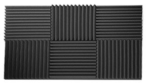 siless acoustic foam panels