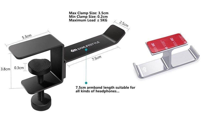 headphone holder desk mount