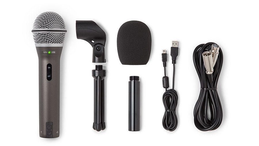 samson q2u podcasting mic