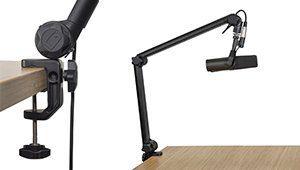 gator frameworks deluxe desk mic boom bm3000