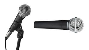 Shure SM58-LC podcast mic