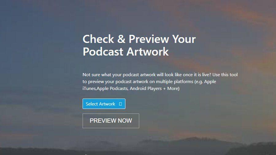 podcast artwork check