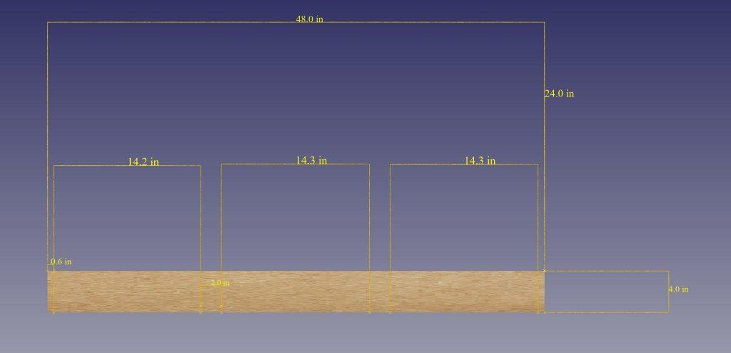 DIY acoustic panel measurements