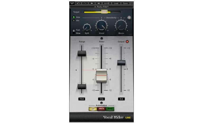 waves vocal rider automation